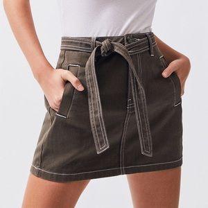 Pacsun Tie waist skirt - NWOT